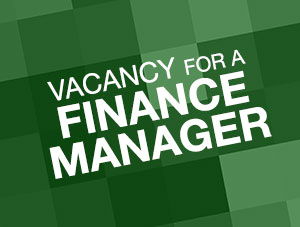 Finance Manager vacancy