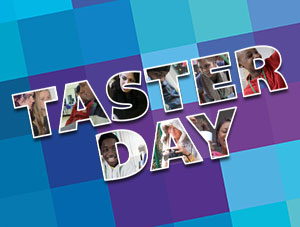 Taster Day Friday 25th August